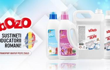 Produsele BOZO au ajuns în Spania și Anglia
