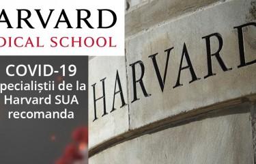 Specialistii de la Harvard recomandari pentru Coronavirus si Covid-19