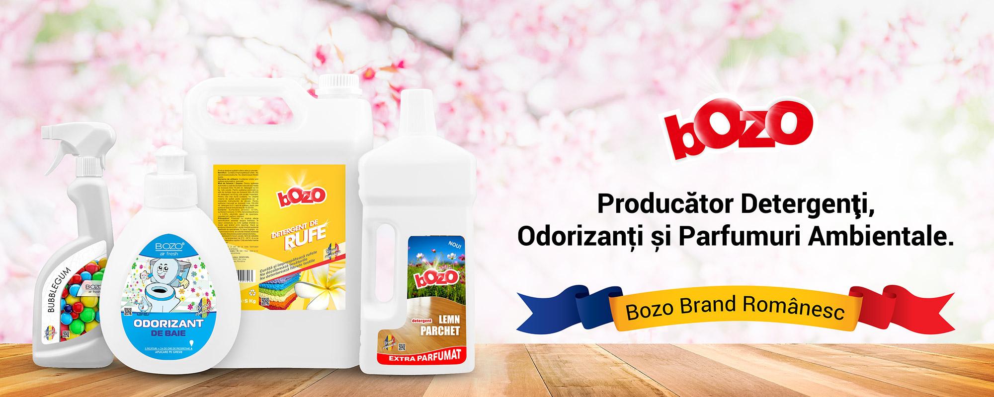 Bozo - Producator detergenti, parfumuri ambientale, odorizanti si produse intretinere auto.