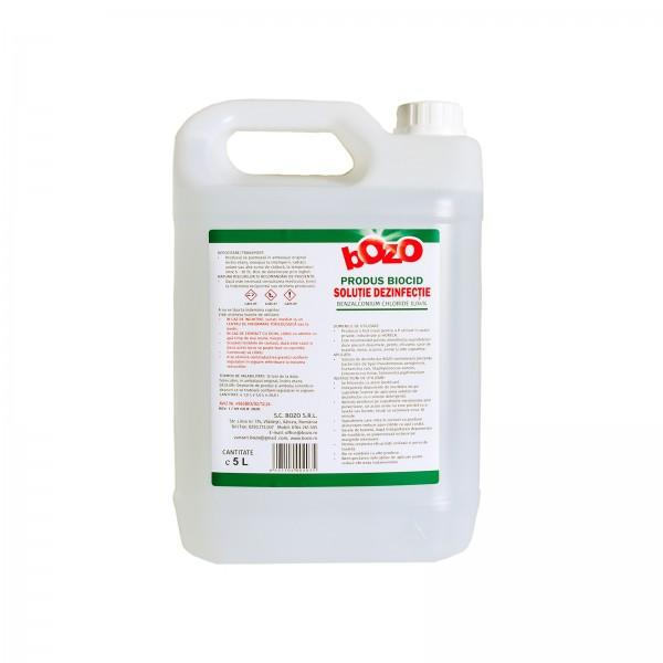 Soluție dezinfecție - Biocid BOZO 5L